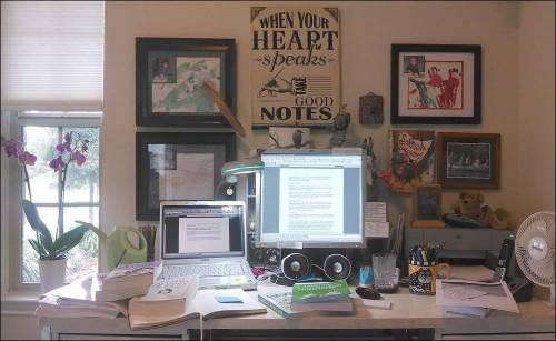 Pat Millers Desk