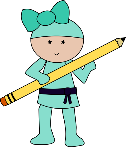 Ninja teal with pencil.png