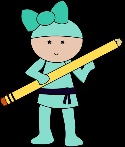 Ninja teal with pencil.png