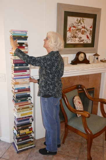 P1080450 stacking the books favorite